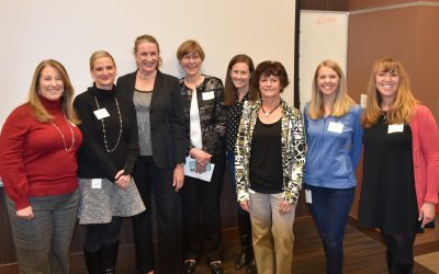 Audrey pictured with the Cigna WILD team.